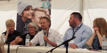 Professor Anders La Cour med mikrofonen